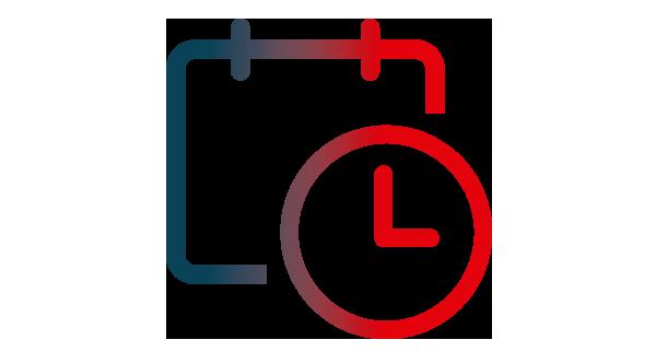 Icône horaires